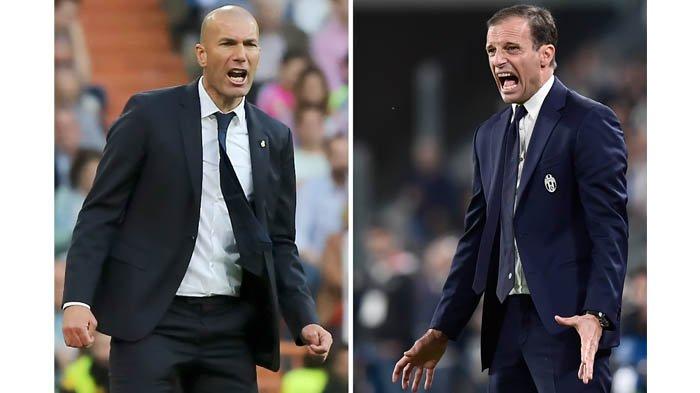 SKENARIO Transfer Pelatih, Zidane ke Juventus, Conte ke Real Madrid, Allegri ke Inter Milan