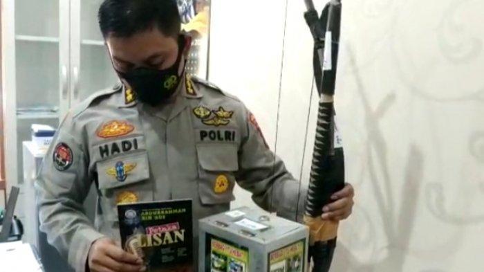 Densus 88 Amankan Puluhan Senjata Tajam dari Terduga Teroris di Medan, Samurai hingga Panah