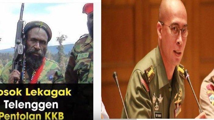 Lekagak Telengen dan Kabinda Papua Brigjen TNI I Gusti Putu Danny Nugraha Karya -