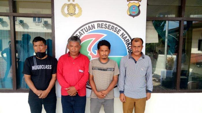 Kepala Desa di Taput Beserta 3 Rekannya Ditangkap Saat Sedang Asyik Nyabu