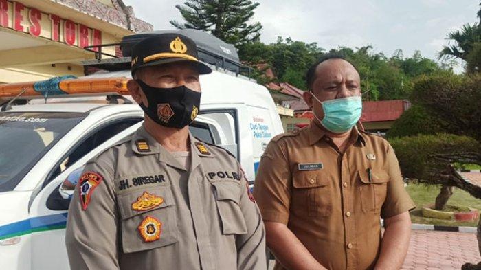 Dikawal Ketat Kepolisian, Satgas Covid-19 Toba Jemput 2.000 Paket Vaksin Sinovac