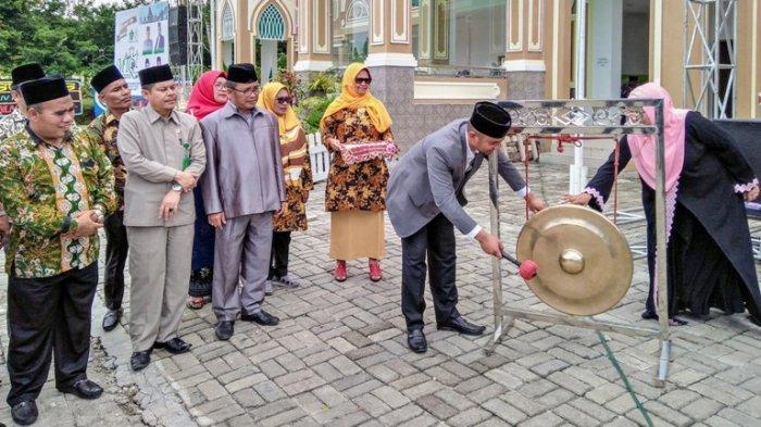 Ribuan Pelajar SD hingga SMA Hadiri Pembukaan MTQ XLIV Kabupaten Dairi