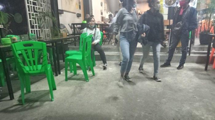 TERJADI Dini Hari, Cafe Vona di Siantar Dilempari Batu Empat Kali dari Orang Tak Dikenal