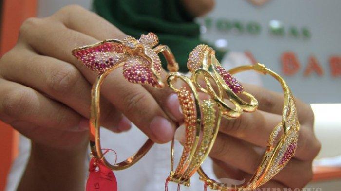 Cara Maling Berpenampilan Religius Curi Perhiasan Emas dari Toko di Sidikalang Dairi