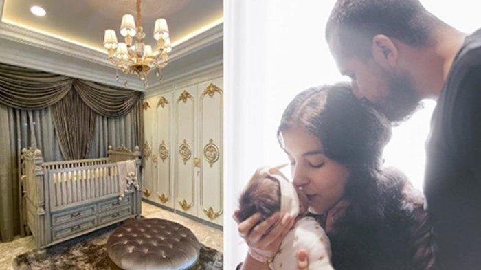 Mewahnya Kamar Bayi Tasya Farasya, Dekorasi Bergaya Eropa, Buat Netizen Rela Dikunci di Kamar Mandi