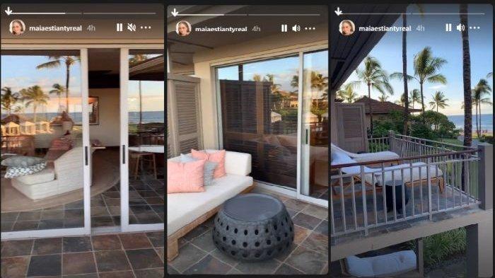 Kamar hotel tempat Irwan Mussry dan Maia Estianty menginap di Hawaii