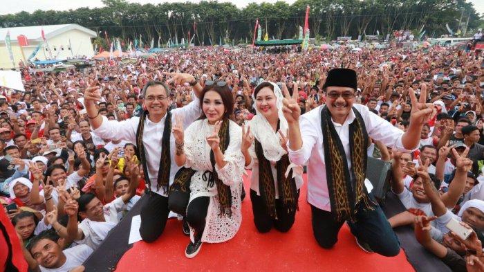 15 Ribu Orang Berkumpul Kampanye Akbar, Djarot: Saya Tahu Masyarakat Sumut Mau Perubahan!