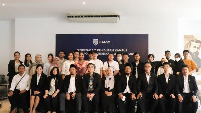 IMAT Medan Lantik Rektor dan Gelar PKKMB, Hadir Realisasikan Mimpi Mahasiswa Jadi Archipreneur