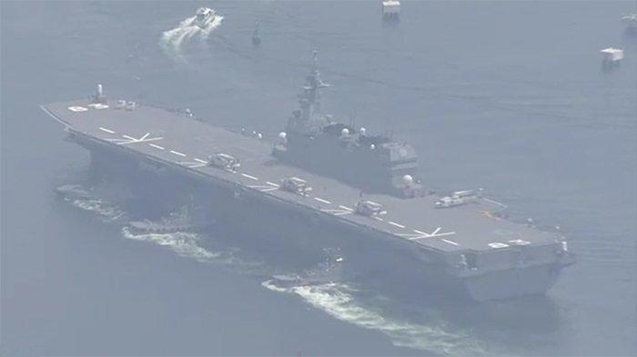 Kapal Perang Terbesar Jepang Bertolak ke Samudera Pasifik, akankah Perang Dunia Terjadi?