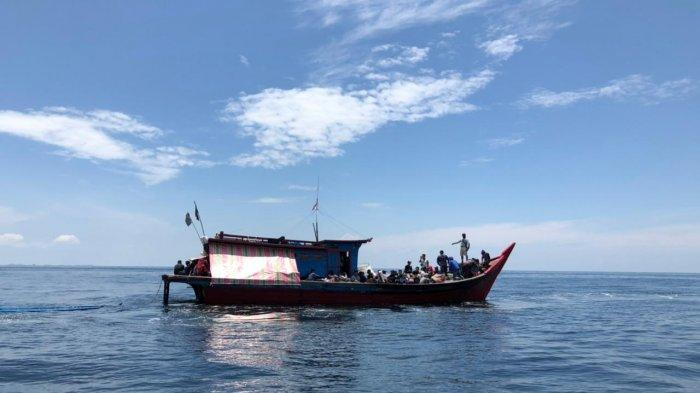 Lanal Tanjungbalai Asahan Gagalkan Kapal Diduga Membawa 85 TKI Ilegal