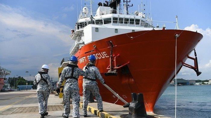 Terbaru Kabar KRI Nanggala-402, 3 Kapal China Tiba di Bali untuk Mengangkat Bangkai Kapal Selam
