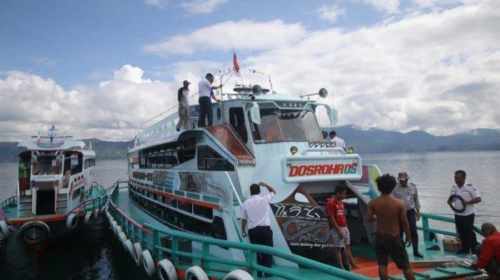 Berkunjung ke Samosir, Ini Tarif Penyeberangan dari Dermaga Ajibata