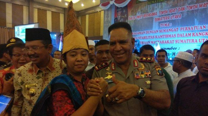 Usai Dialog Umat Beragama, Kapolda dan Gubernur Sumut Diburu Peserta untuk Foto Bersama