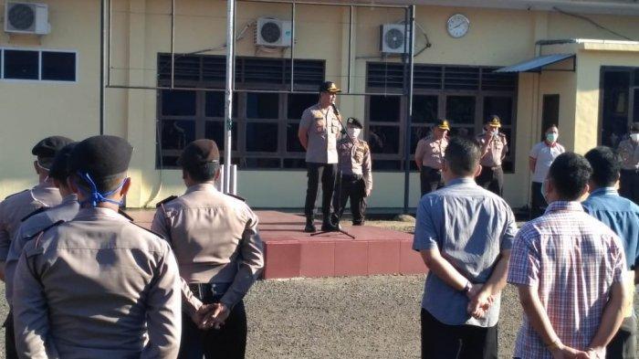 Kapolres Sibolga Imbau Anggota Polres tidak Mudik Lebaran Tahun Ini, Jangan Coba-coba