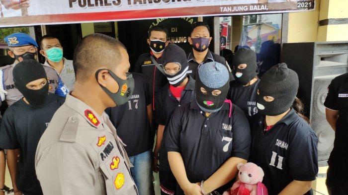 Satu Keluarga di Tanjungbalai Jualan Sabu, Pemasoknya Napi Lapas Tanjunggusta Medan