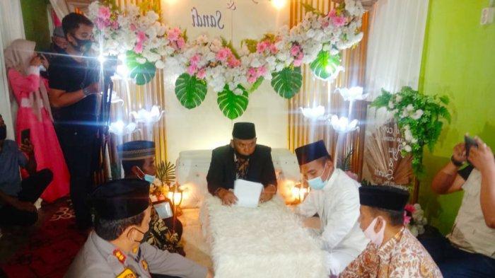 Kapolres Batubara AKBP Ikhwan Jadi Saksi Pernikahan Gadis Penggembala Lembu