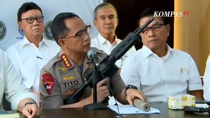 Kuasa Hukum Eks Danjen Kopassus Soenarko Sasar Kapolri Tito - Salah Sebut Barang Bukti Senjata