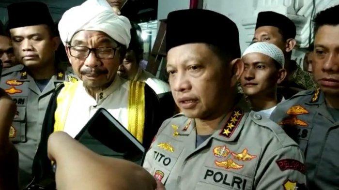 KAPOLRI TITO KARNAVIAN - FAKTA TERBARU BOM DI SIBOLGA, Kapolri Ungkap tak Terkait Kunjungan Jokowi