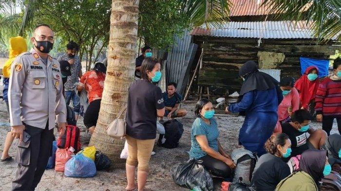 Warga Batubara Ramai-ramai Ingin ke Malaysia Jelang Lebaran, Gagal Mengadu Nasib Diamankan Polisi