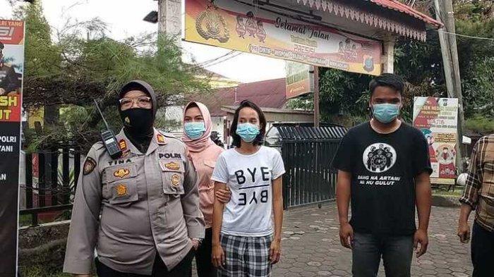Polsek Medan Barat Bekuk Preman di Pasar Sambu Baru yang Ajak Duel Aparat