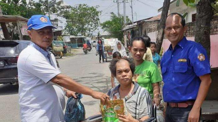 Karang Taruna Medan Gaungkan Aksi Lawan Corona, Semprot Disinfektan ke Seluruh Kecamatan