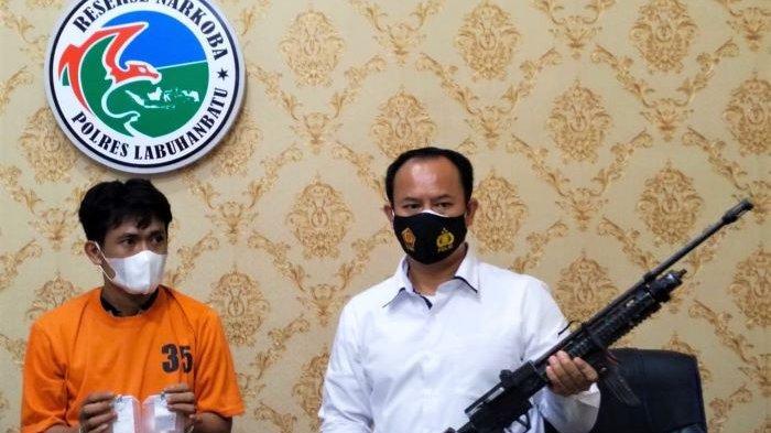 Mirip The Narcos, Bandar Sabu Labuhanbatu Punya Senjata Laras Panjang Rakitan