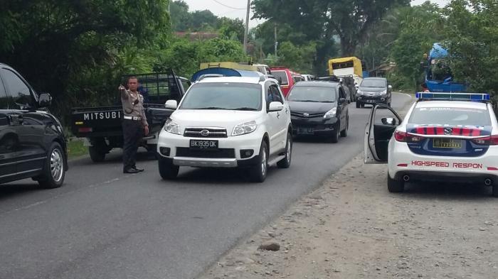 Jalan Medan-Brastagi Diprediksi Macet Jelang Akhir Libur Panjang