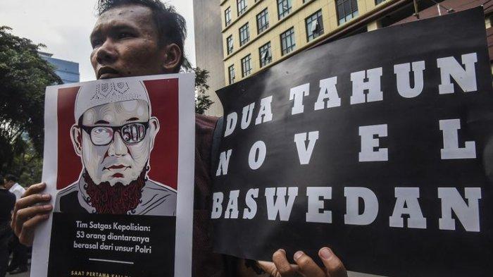 Menohok Tanggapan Novel Baswedan, 2,5 Tahun Misteri Kasus Penyerangan Penyidik KPK, Kapan Ditangkap?