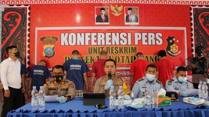 KESAL Dilaporkan Nyabu, Pegawai Bakar Rumah Kalapas Klas III Kota Pinang