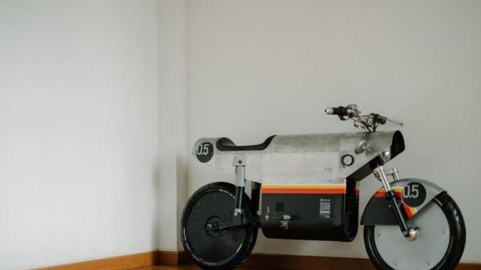 Resmi Meluncur, Inilah Katalis EV.500, Motor Listrik Kreasi Anak Bangsa
