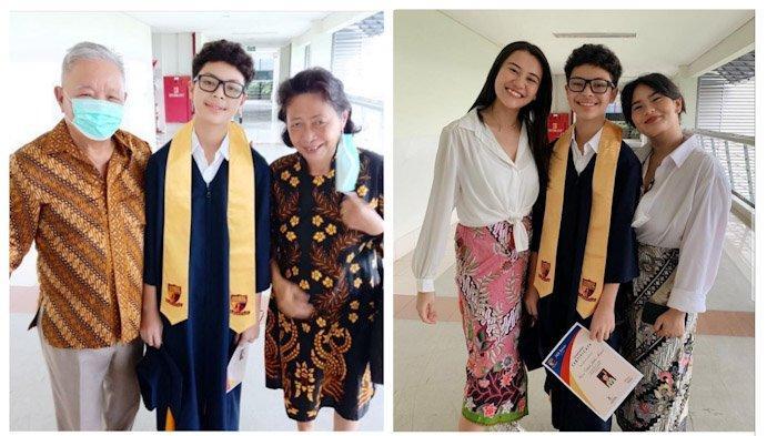 Tanpa Asuhan Ayah dan Ibunya Selama 10 Tahun, Kini Keanu Massaid Sudah Tamat SD