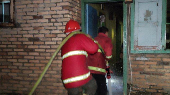Kebakaran di Asahan, Dua Rumah Ludes Dilalap Si Jago Merah, 4 Mobil Damkar Diturunkan