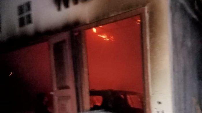 Kebakaran di Jalan Taduan Lingkungan 15, Kelurahan Sidorejo, Kecamatan Medan Tembung pukul 20.00 WIB, Selasa (1/6/2021)