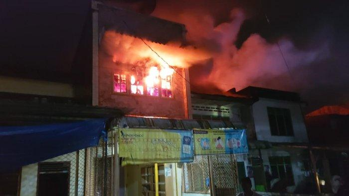 Kebakaran di Serbelawan, Tiga Rumah Dilalap Si Jago Merah, Tak Ada Korban Jiwa