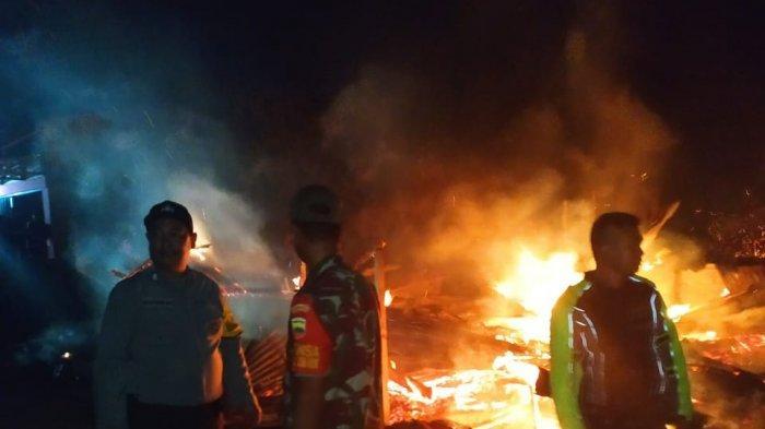 Polisi Ungkap Kronologi Kebakaran di Desa Simatupang, Awal Korban Isi Bensin ke Botol Plastik . . .
