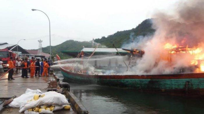 Ini Kronologi Kebakaran Kapal Nelayan di Sibolga yang Tewaskan 2 ABK