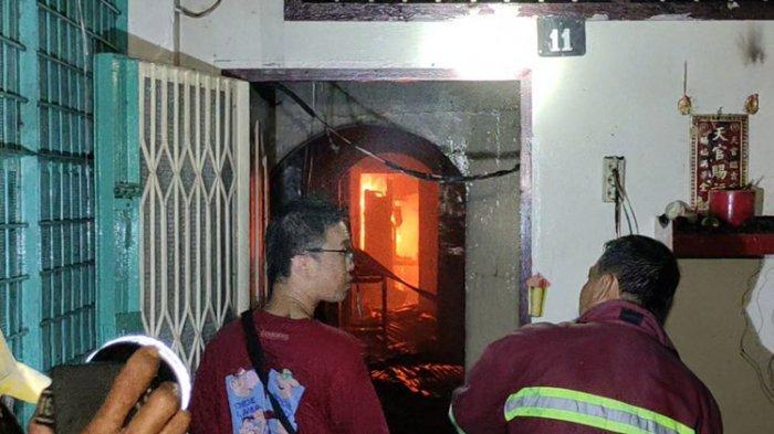 Kebakaran di Tanjungbalai, Api Cepat Merambat dan Petugas Kesulitan Memadamkan