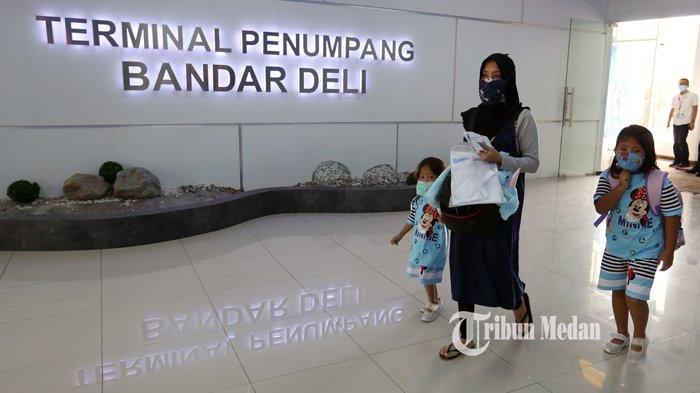 Level PPKM Menurun, Penumpang dari Pelabuhan Belawan Meningkat 78 Persen Capai 2.138 Orang
