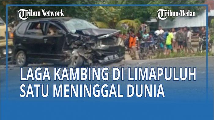 Kecelakaan lalulintas terjadi di Jalan lintas Medan-Kisaran KM 123–124, Dusun I Desa Perkebunan Limau Manis, Kecamatan Lima Puluh Kabupaten Batubara.