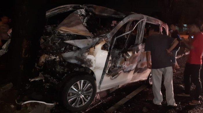 Bos Diskotik Tewas Terpanggang di Mobil Terbakar, Polisi Sebut Kendaraannya Melaju Kencang