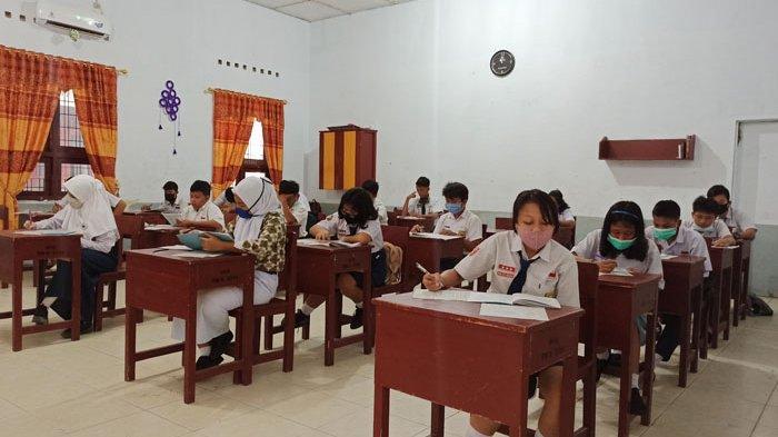 Persiapan Belajar Tatap Muka, Plt Kadisdik Sumut Sidak Tiga Sekolah, Ini Penilaian Lasro Marbun