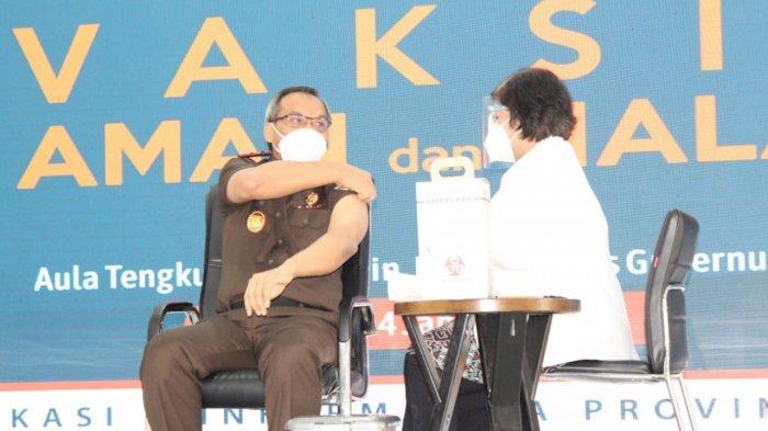 Kejati Siap Kawal Pelaksanaan Vaksinasi di Sumut, Berharap Tak Terjadi Penyimpangan