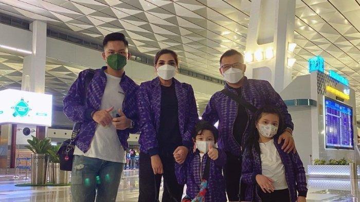 Keluarga Anang dan Ashanty terbang ke Turki.