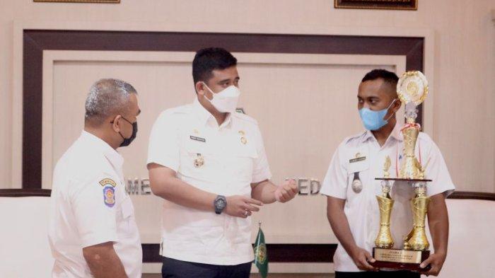SELAMAT, Kelurahan Besar Medan Labuhan Juara I Lomba Kelurahan/Desa se-Sumut
