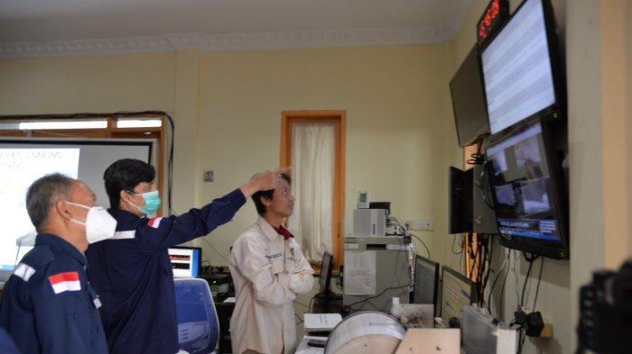 Kepala Badan Geologi Kementerian ESDM Cek Kesiapan Mitigasi ke Pos PGA Sinabung