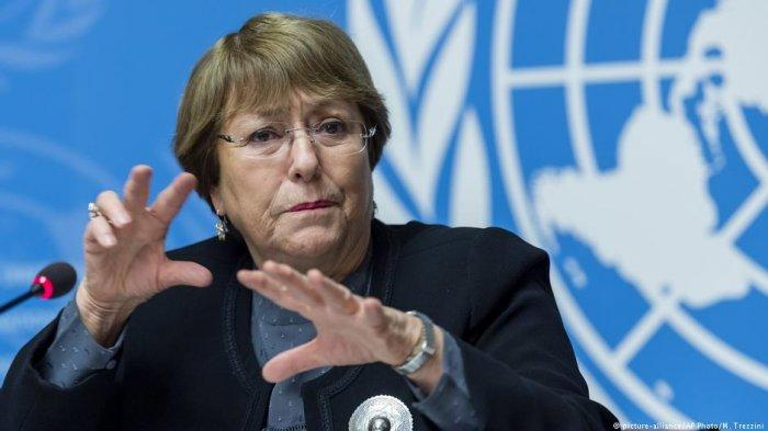 Michelle Bachelet Komisioner HAM PBB Angkat Bicara soal Kerusuhan Papua, Kapolri Ungkap Fakta Ini