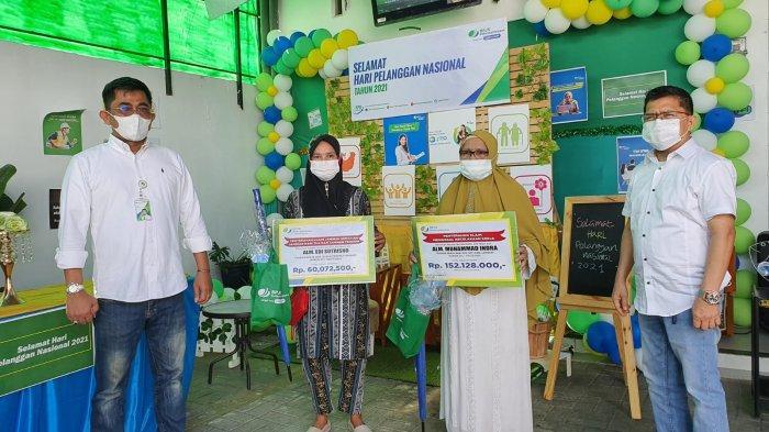 Dua Ahli Waris Dapat Santunan dari BPJamsostek Kota Binjai