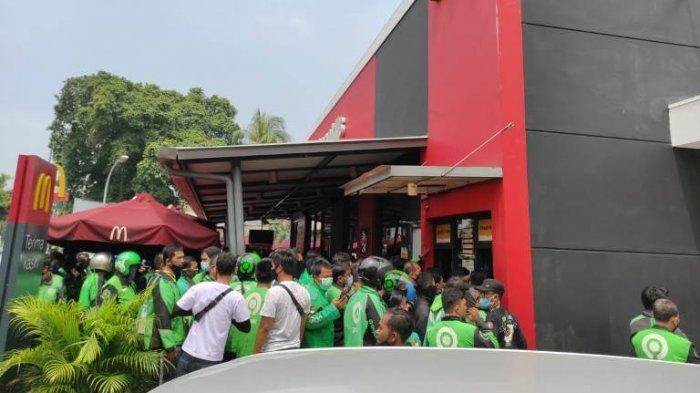 HEBOH McDonalds Menu Spesial BTS Meal, Ratusan Driver Ojol Padati Semua Gerai Mcd di Medan