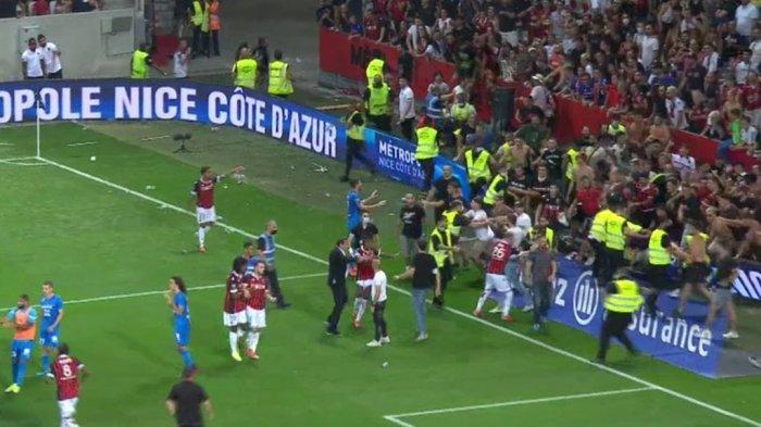 Kerusuhan Laga Nice vs Marseille