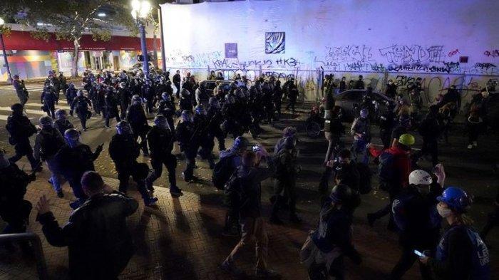 Hasil Pemilu AS, Setidaknya 10 Orang Ditangkap dan Sejumlah Senjata Disita saat Terjadi Kerusuhan